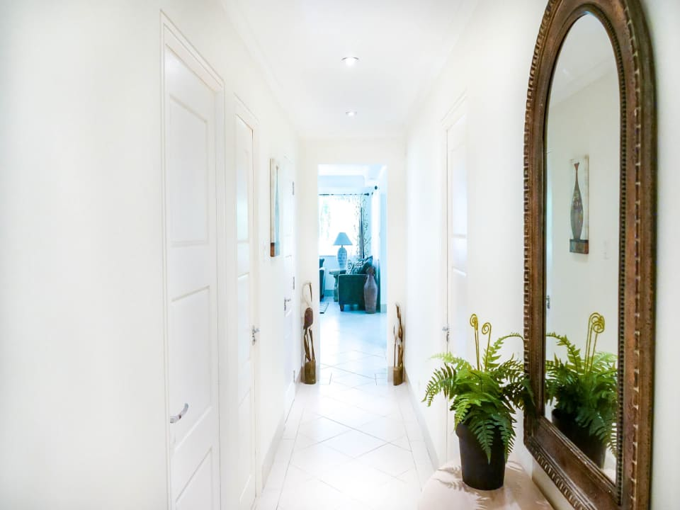 Hallway to the Living Room