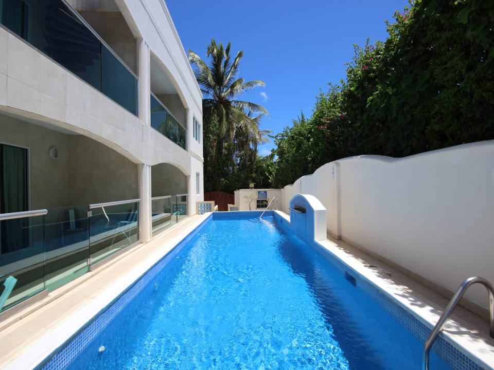 Glistening Lap Pool