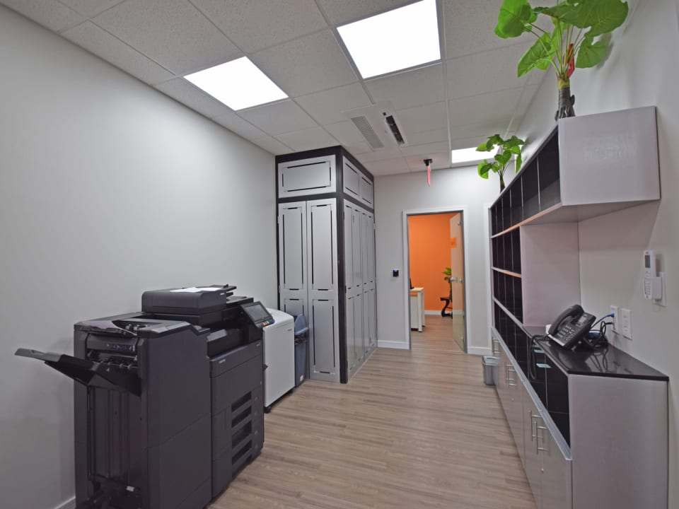 Copy and stationary room