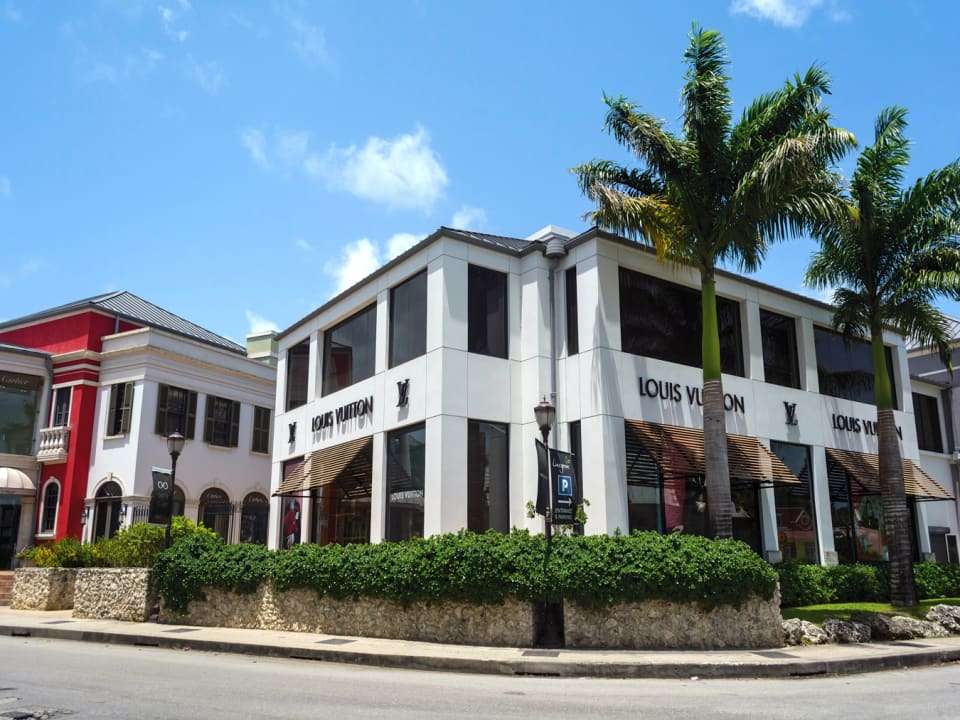 Nearby Limegrove shopping plaza