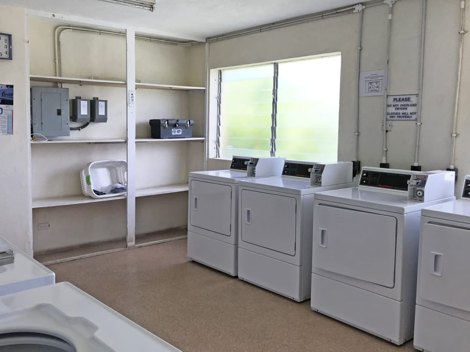 Laundry room on the same floor