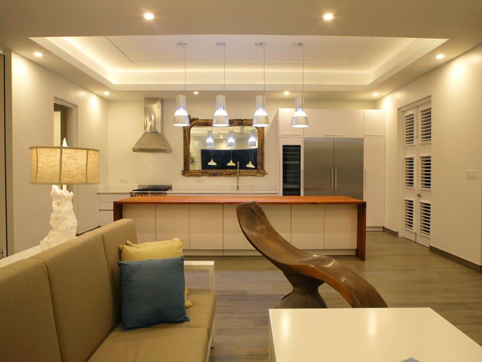 Open plan main floor