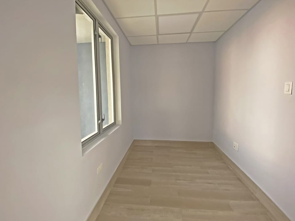 Adjoining office from reception for rental