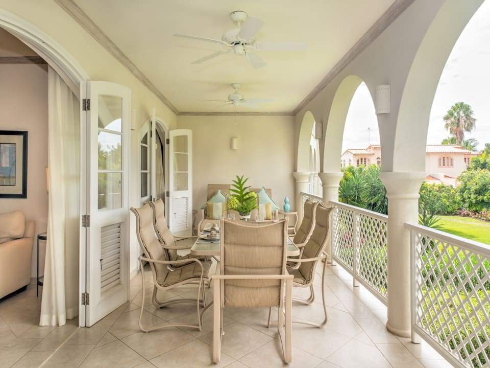Patio off the Living Room