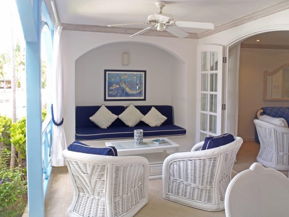 Veranda sitting area