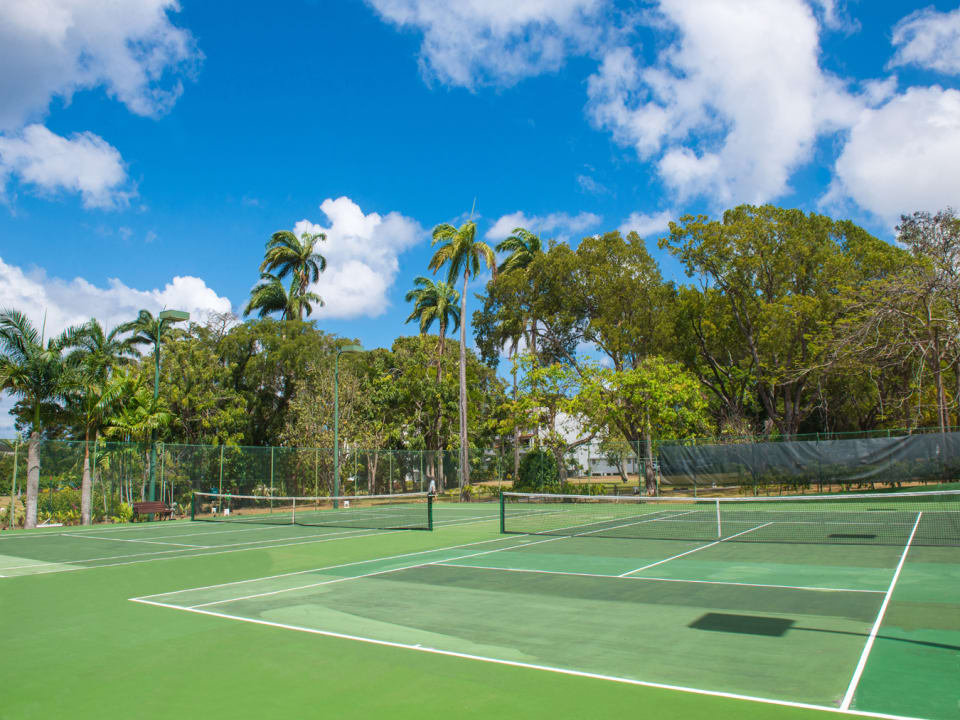 Tennis Courts at Glitter Bay