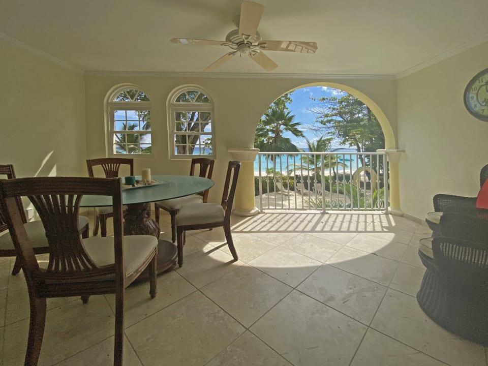 External patio terrace