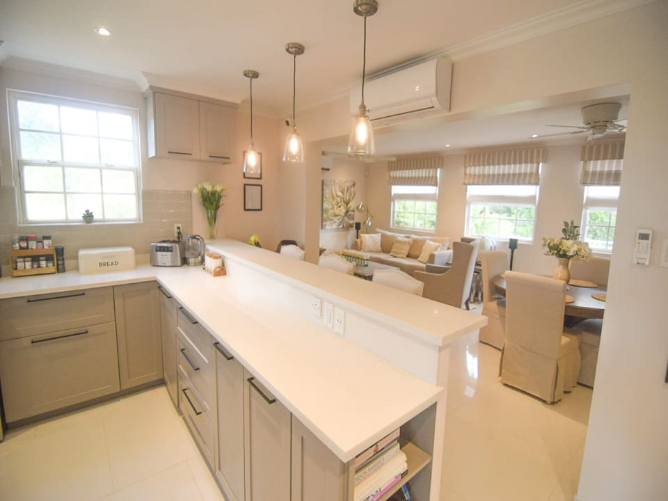 Beautiful kitchen with lots of natural light