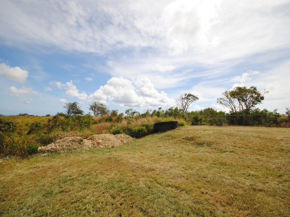 South boundary has country views and distant sea views