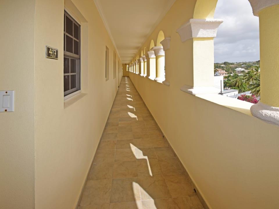 Building corridor