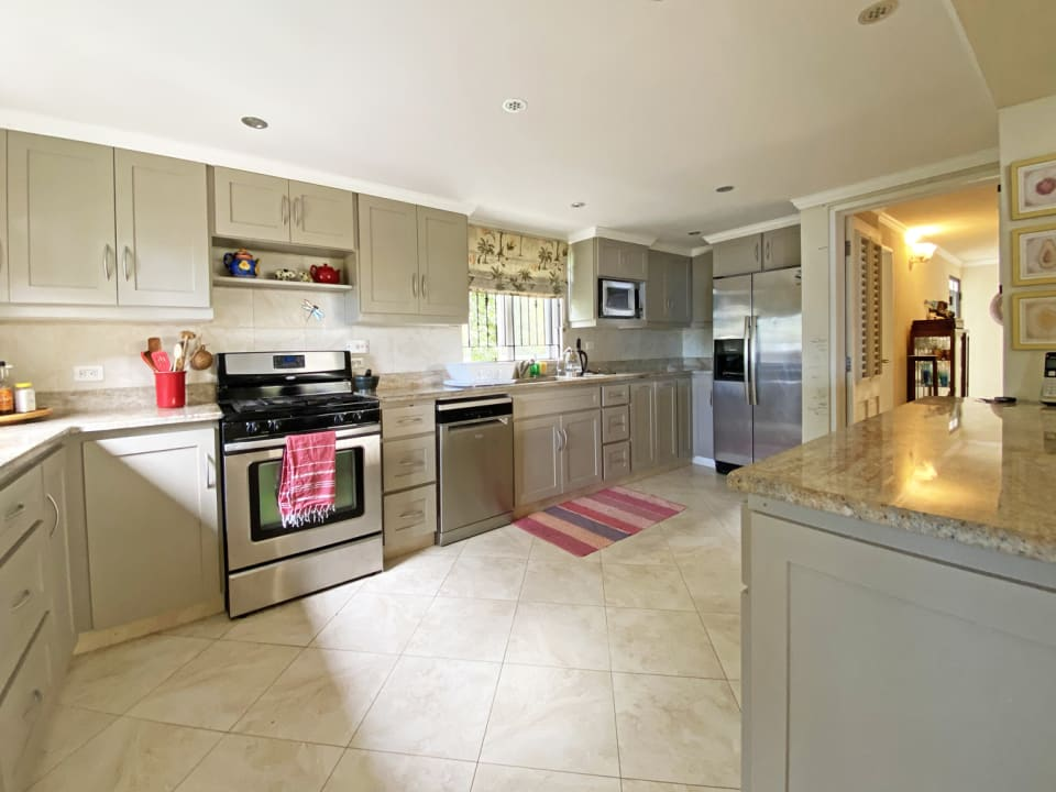 Kitchen with Granite Surfaces