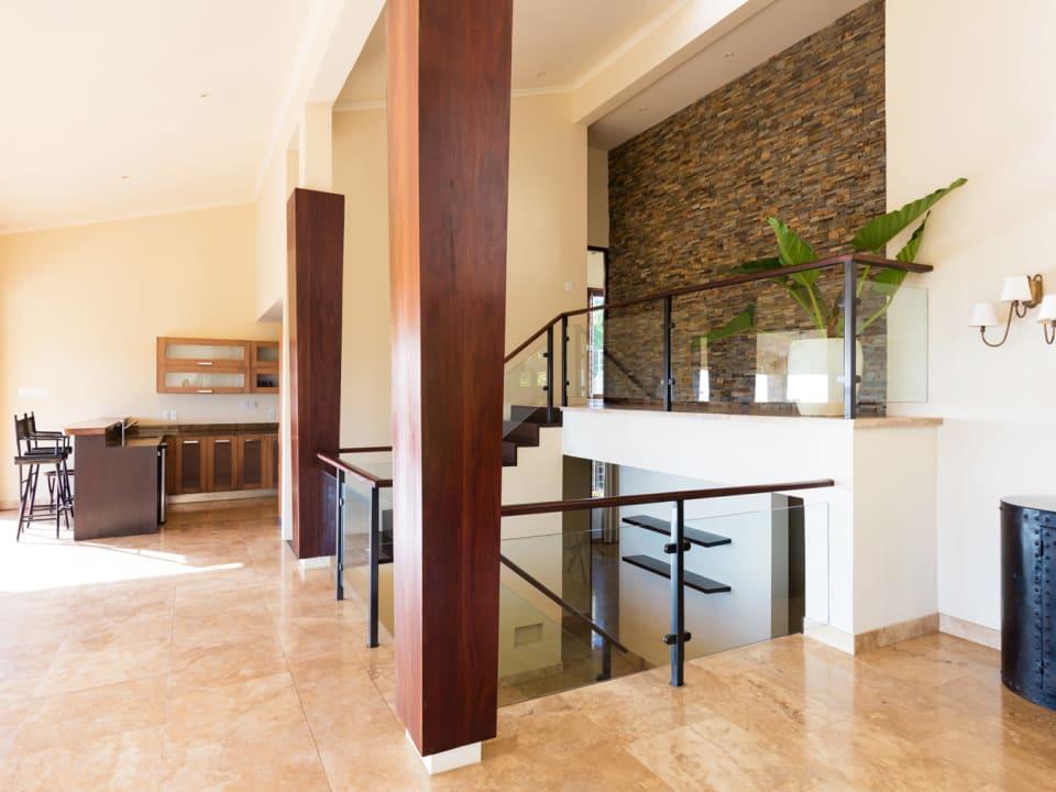 Stairwell on main floor