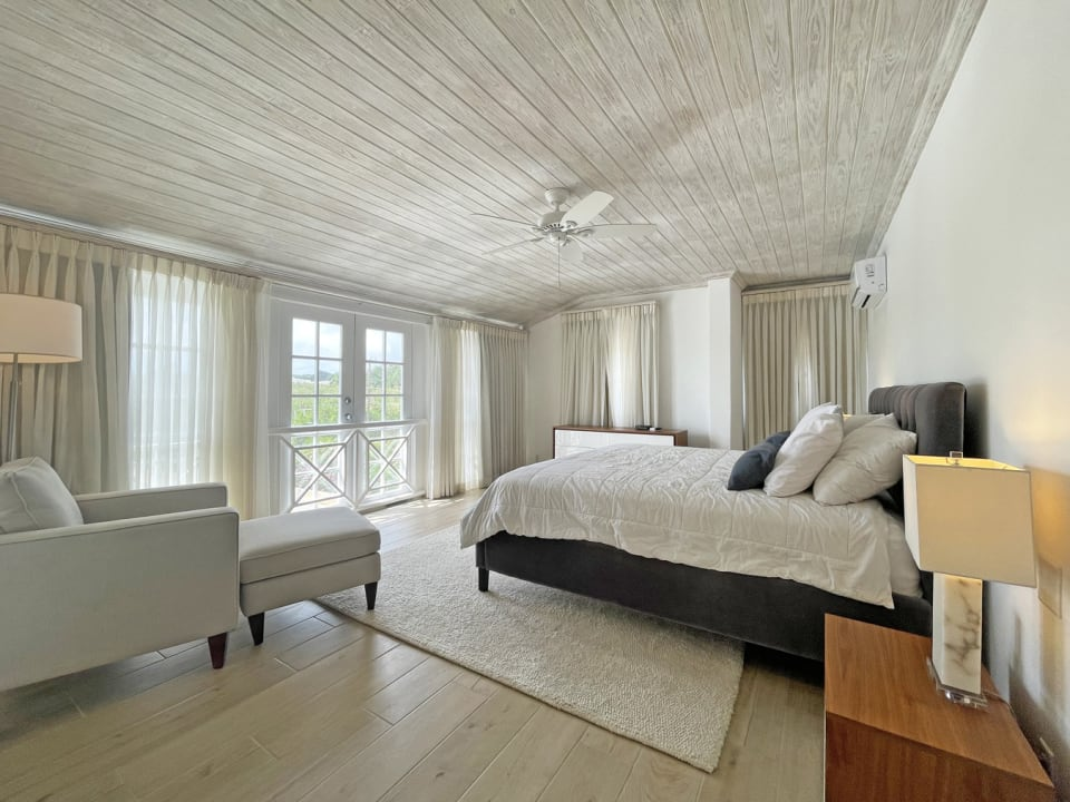 Main bedroom with views