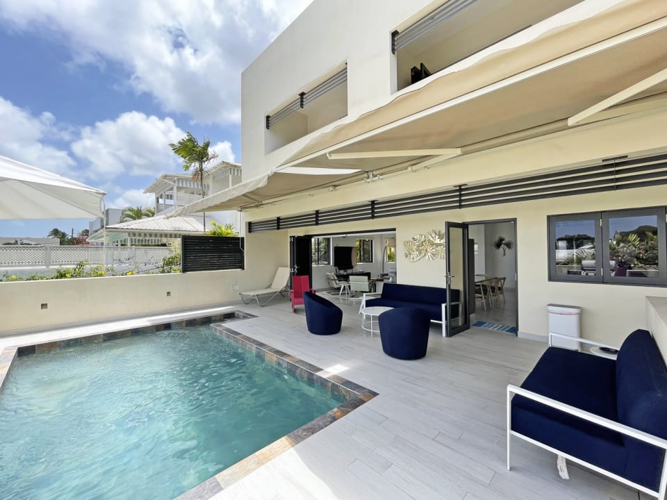 Patio and Pool deck