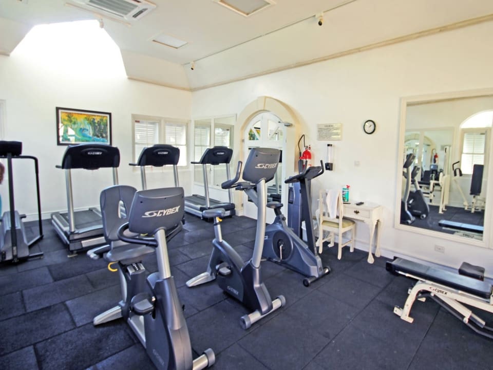 On site gym at Sugar Hill
