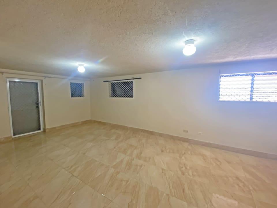 Basement bedroom suite