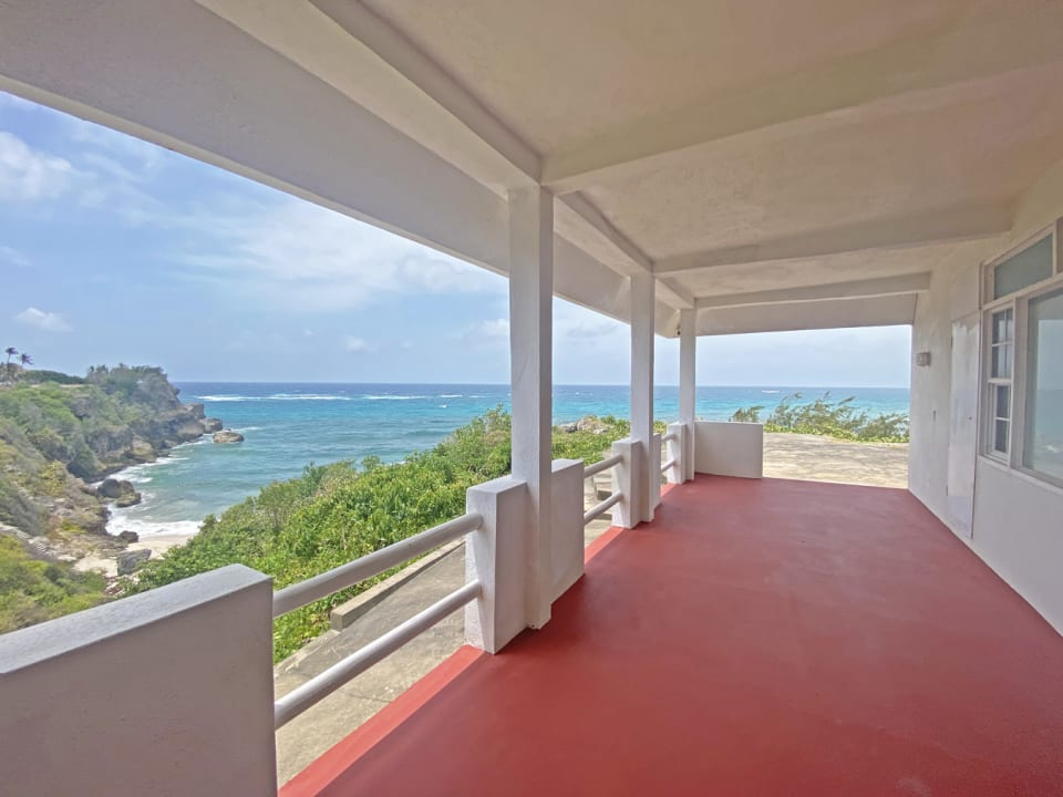 Stunning ocean views from patio terrace