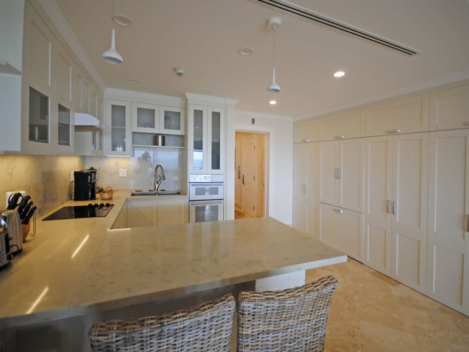 Custom fitted kitchen