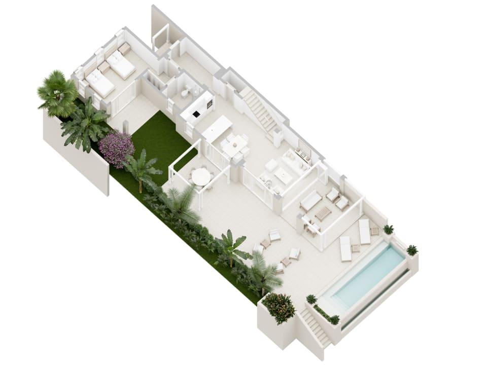 Courtyard Villa - ground floor