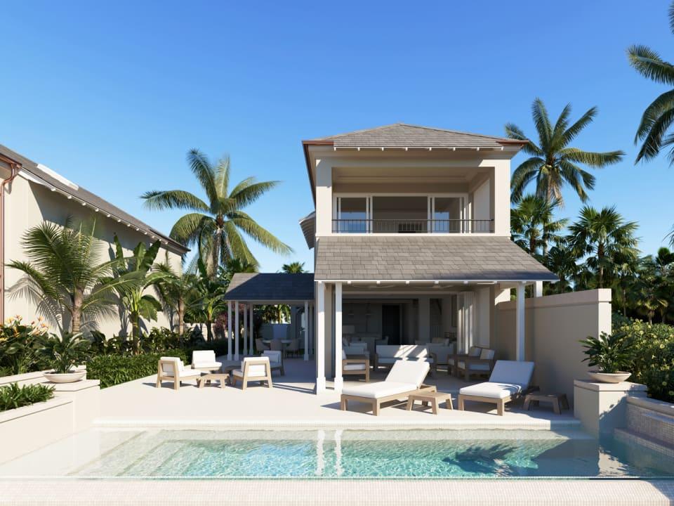 Courtyard Villa - rear