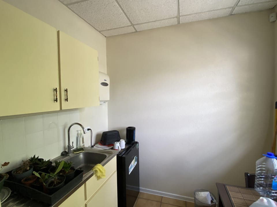 Front office kitchenette