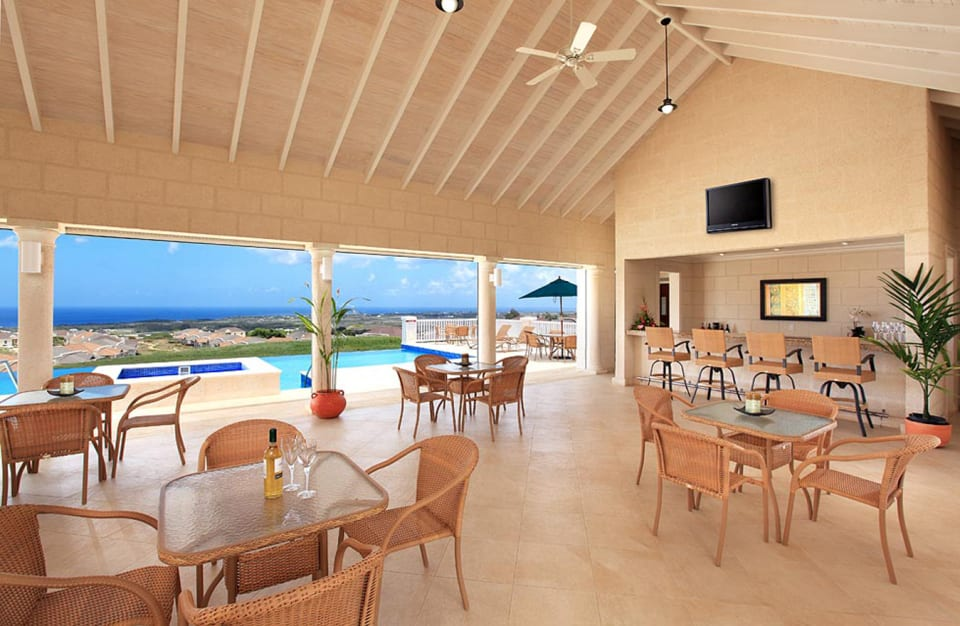 Clubhouse with fantastic views