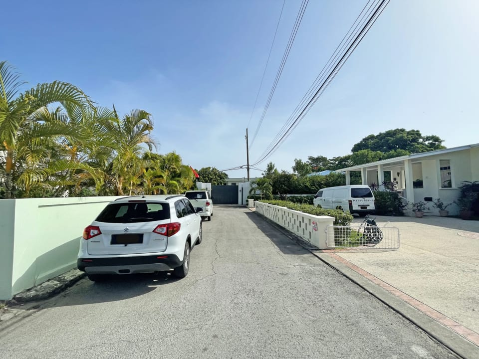 Street view with property on left