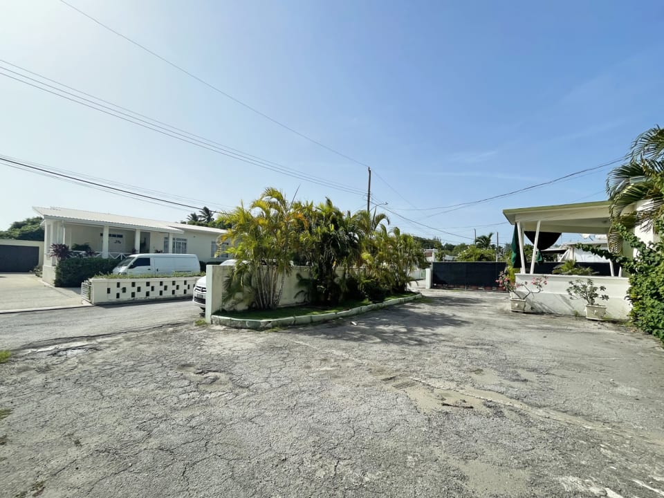 From property showing double entrances