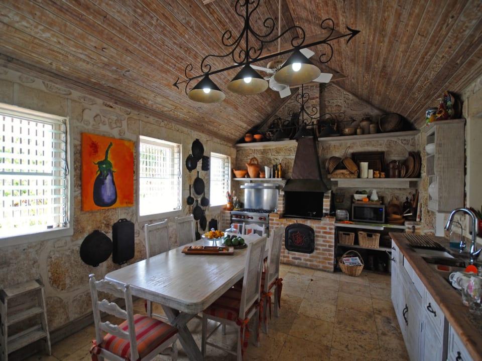 Kitchen of main house
