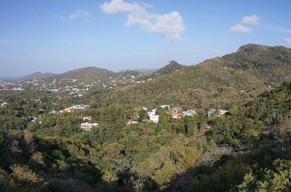 View of Rodney Bay
