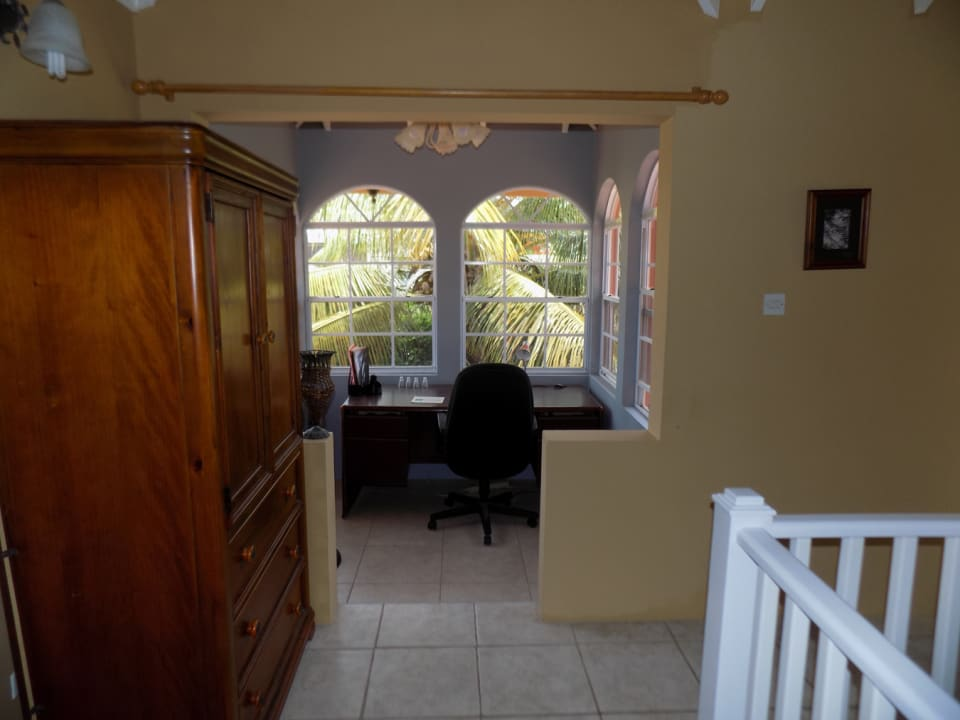 Study area upstairs