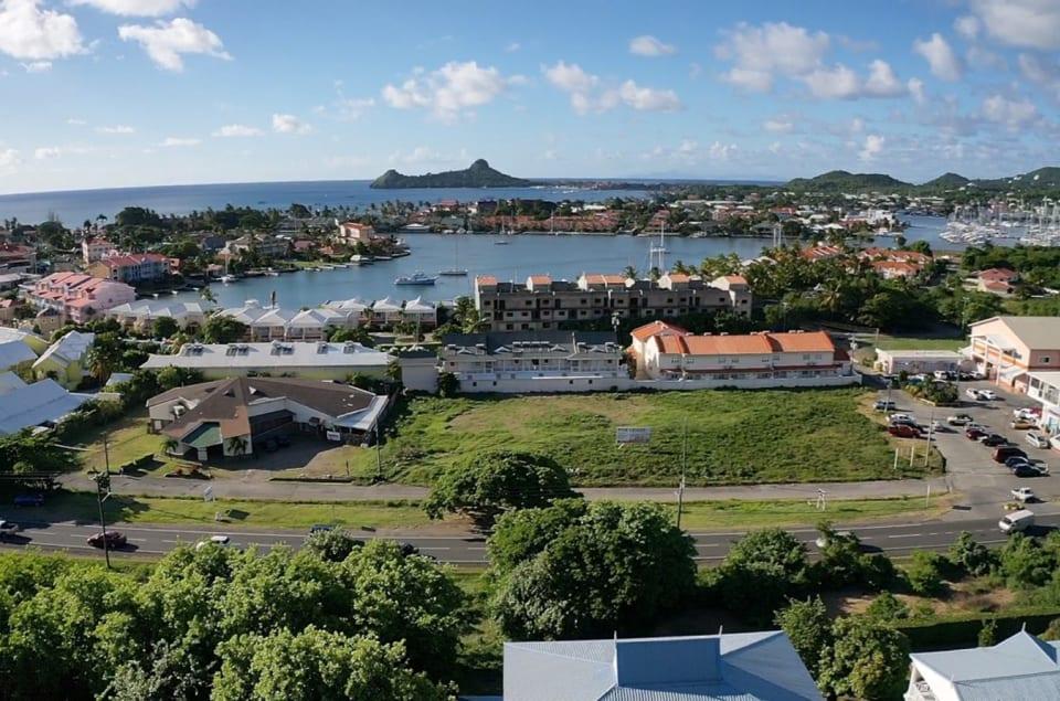 View of Rodney Bay & Pigeon Island