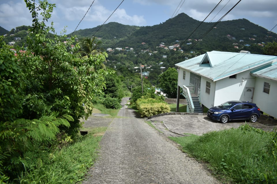 Main Road to the property