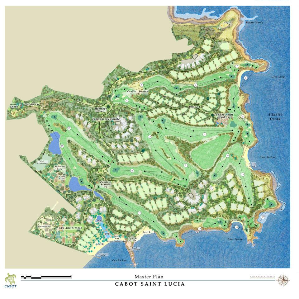 Cabot Site Plan