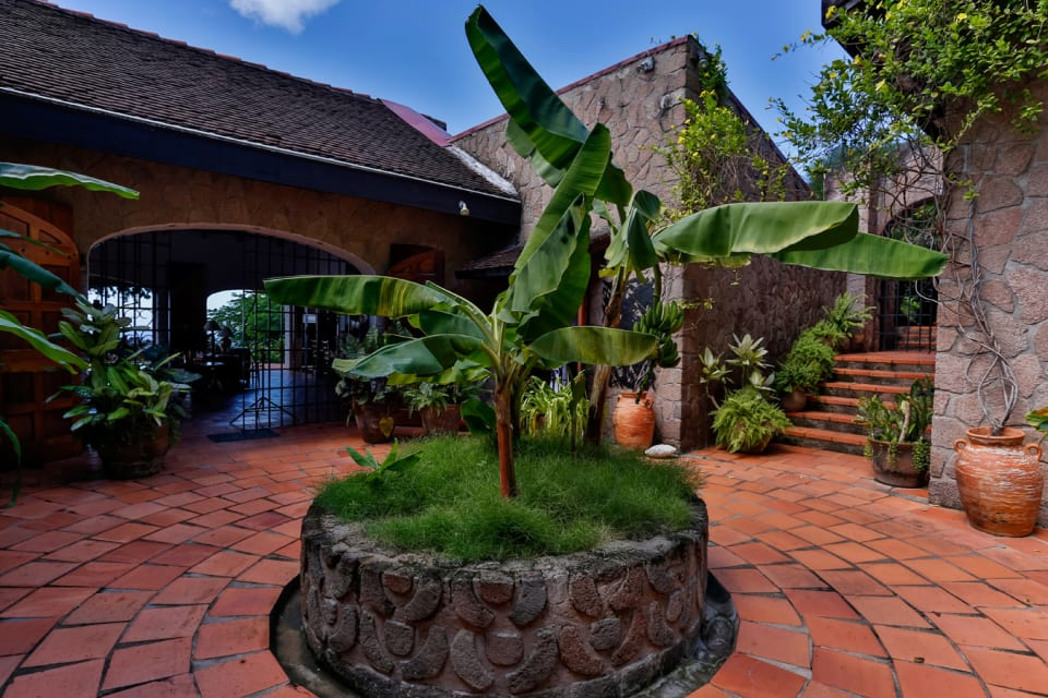Courtyard - main entrance