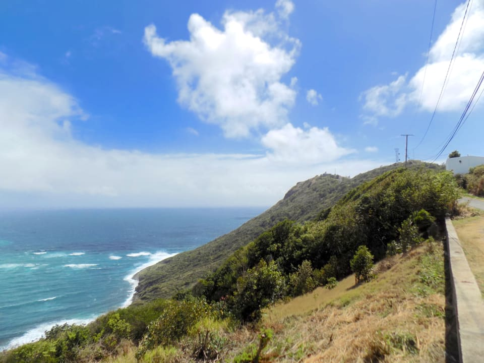 View towards the light house