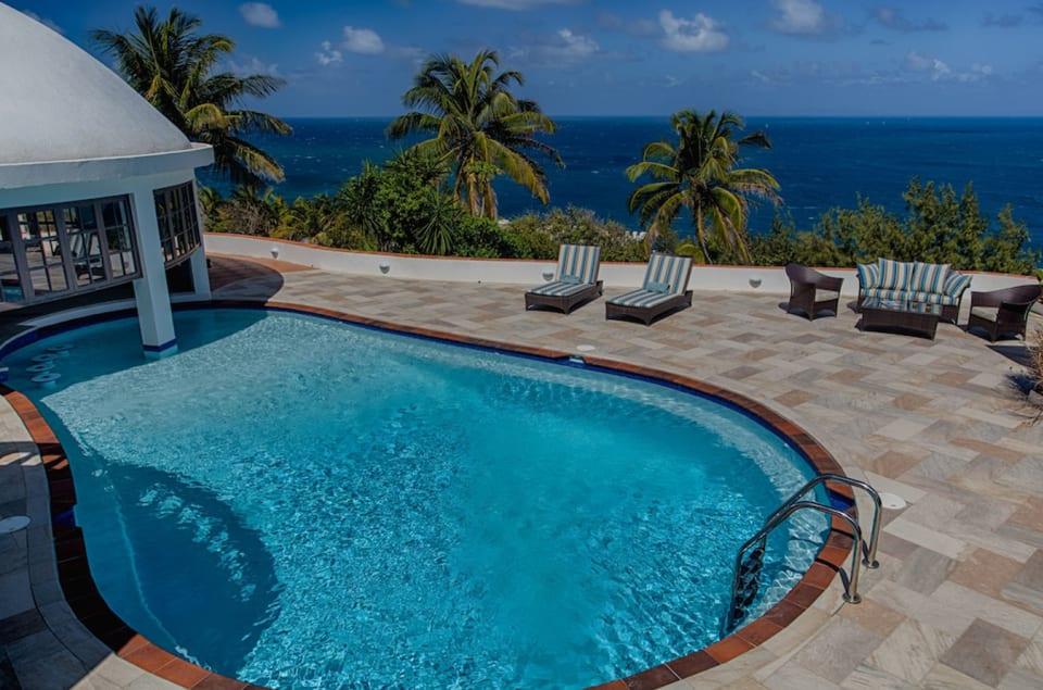 Caribbean Sea, looking towards Martinique