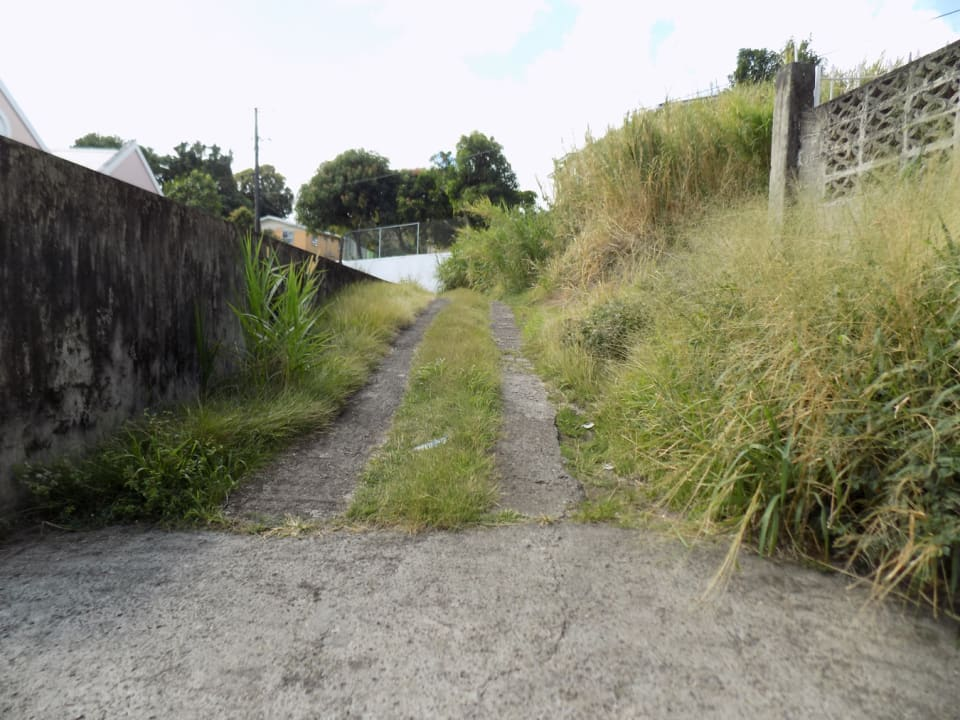 Access road to them home