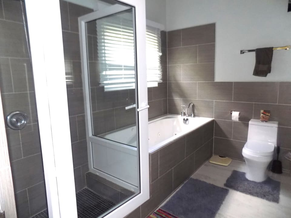 Master Bathroom - jetted tub and shower