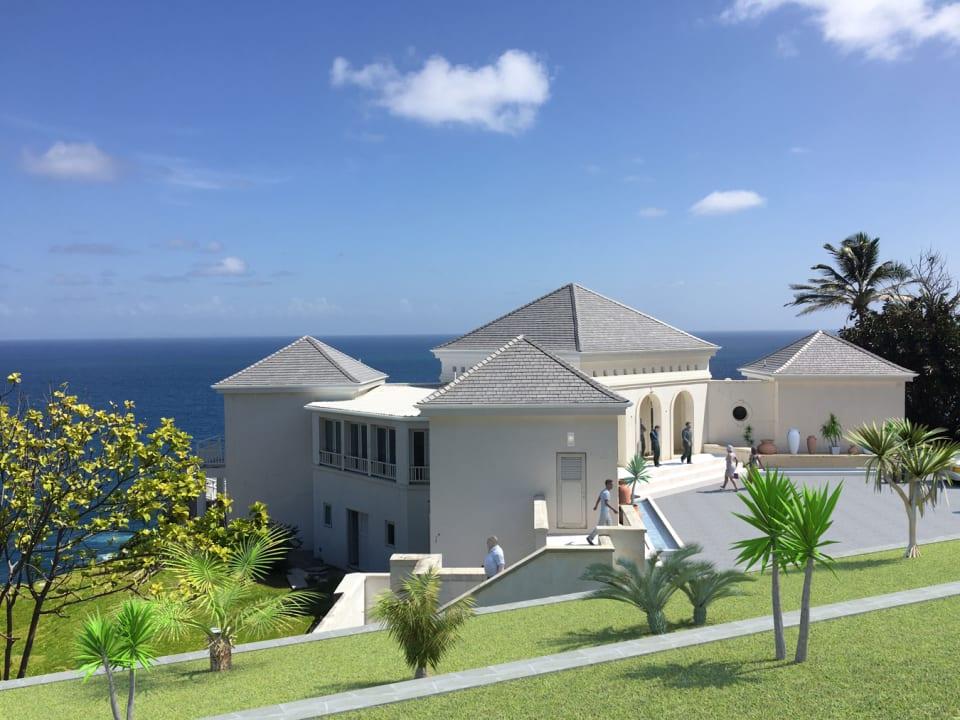 Artist Impression of Finished Villa