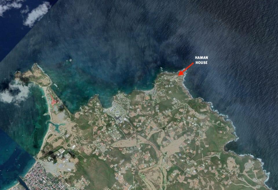 Aerial image of Villa at Saline Pointe