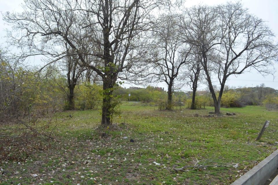 View of land facing North