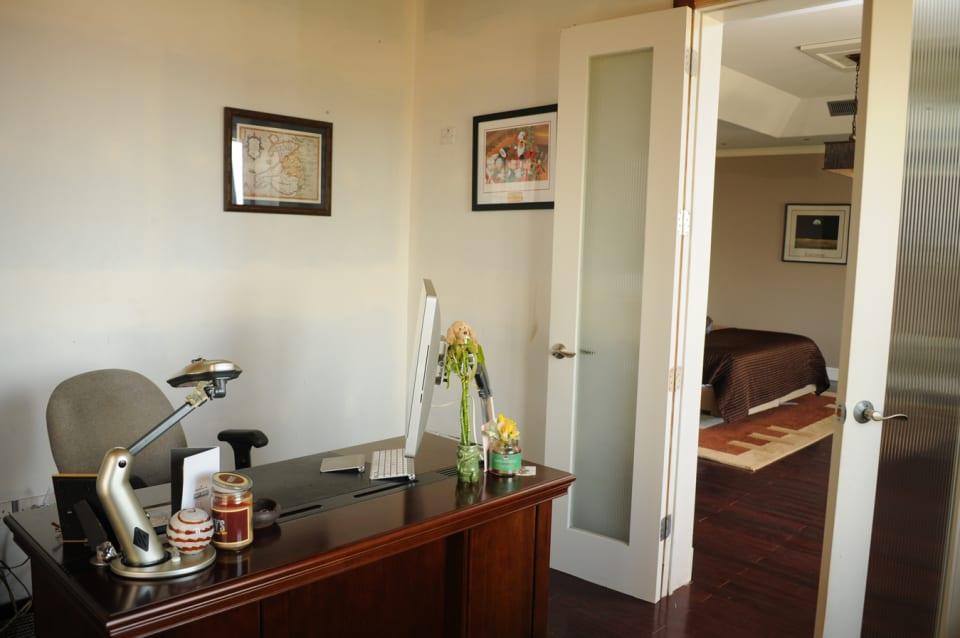 Study Area adjoining Master Bedroom