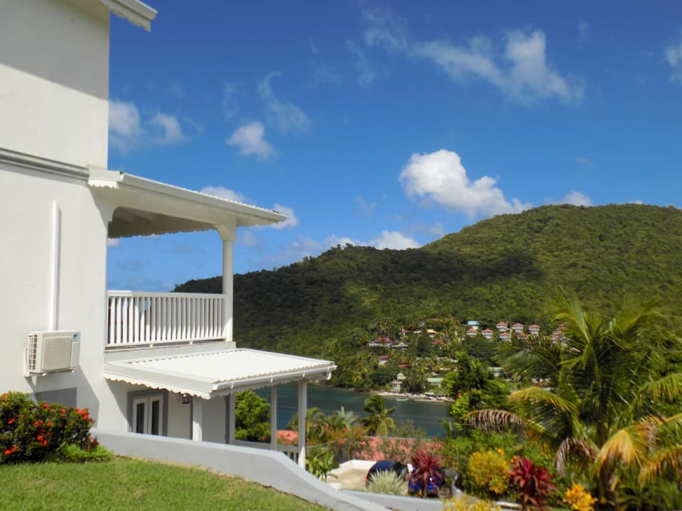 Perched over Marigot Bay