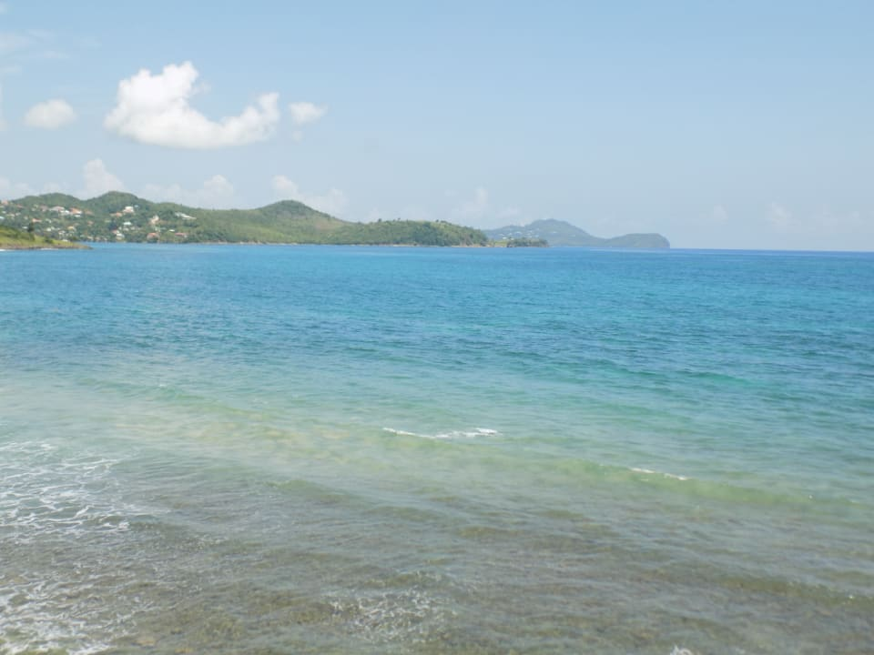 Clear tranquil Caribbean Sea