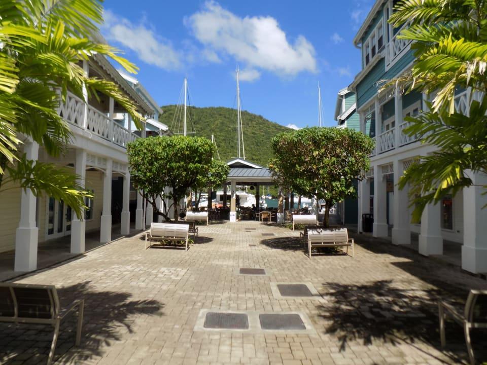 Courtyard near Waterfront