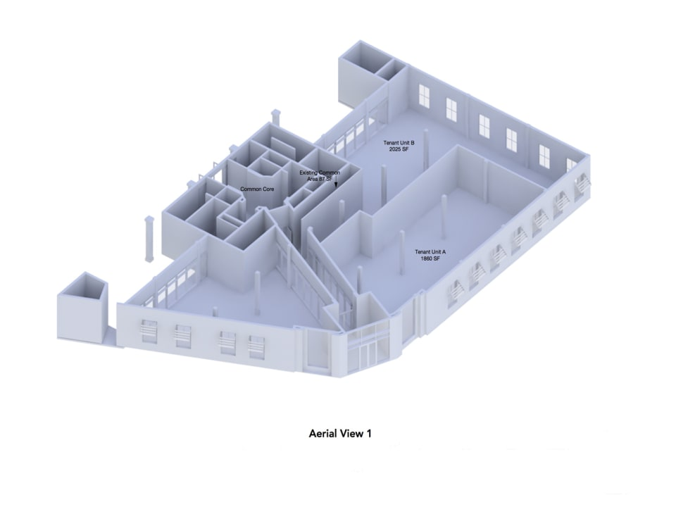 Render of unit A and B