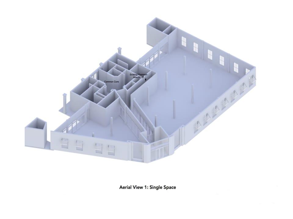Render of Trident Building