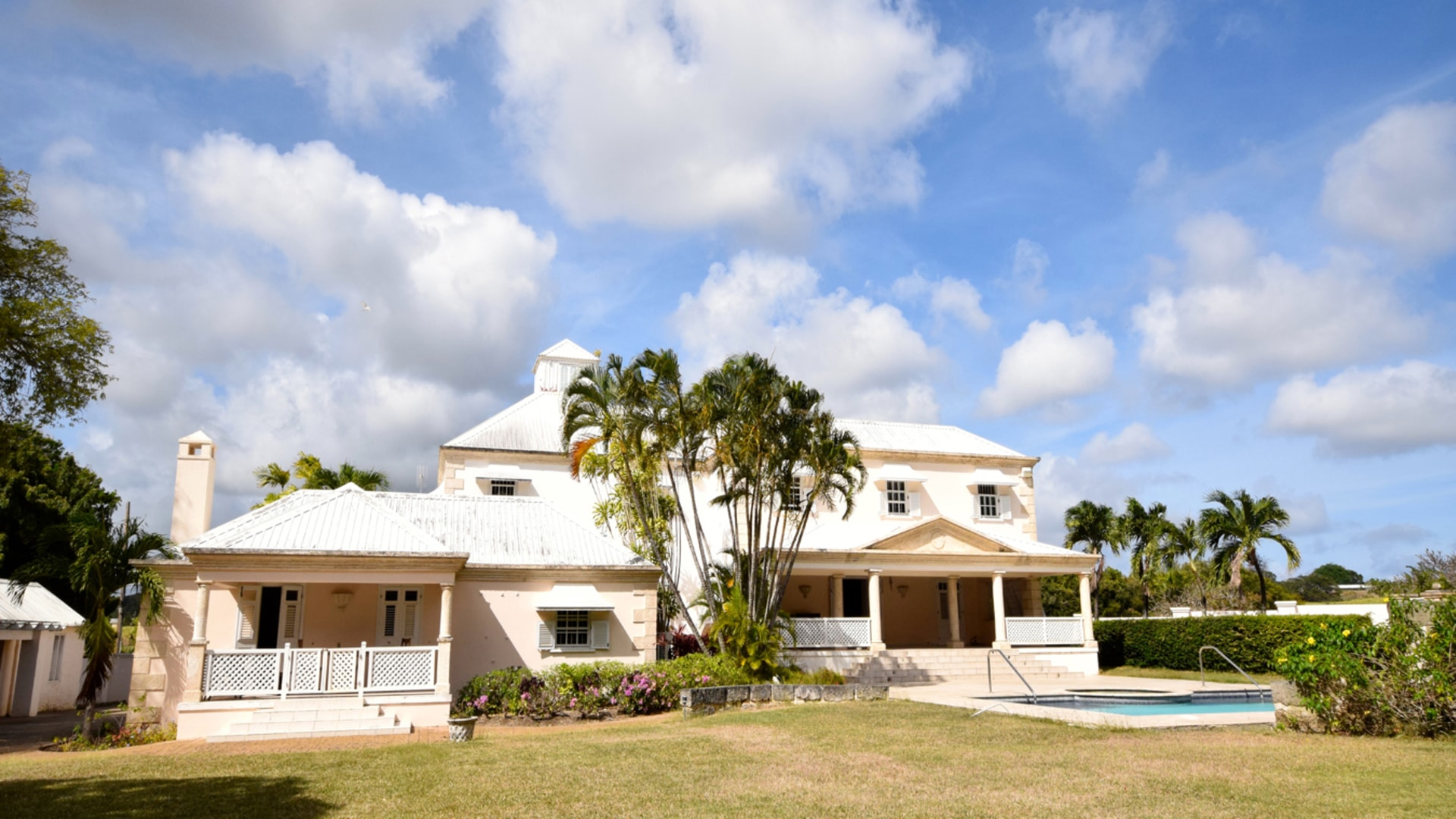 The Valley Great House Plantation House Barbados Real