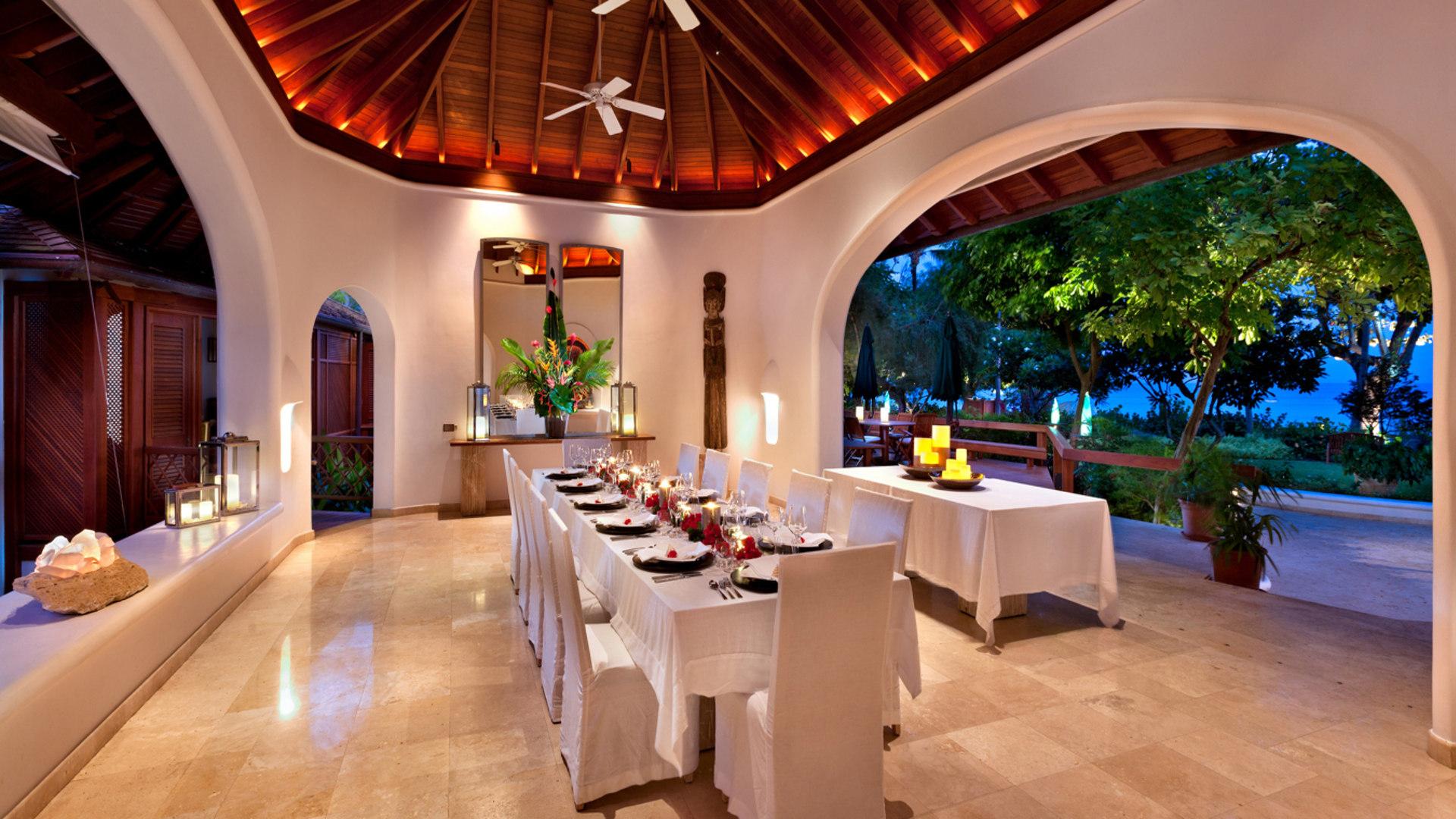 Impressive dining room